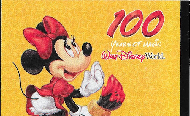 Minnie Mouse 100 Years of Magic Walt Disney World Ticket