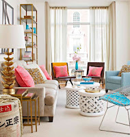 Chic living room furniture choice idea