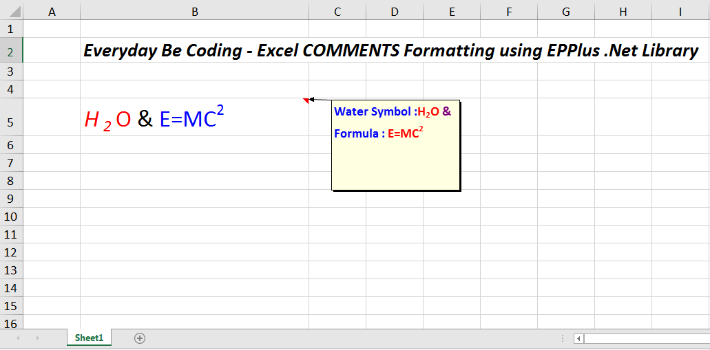 How To Add Multi Style And Multiple Rich Text In Excel Cell