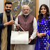Virat and Anushka met PM Modi and inviteed him to come to the reception