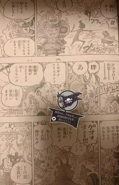 One Piece Manga Chapter 998