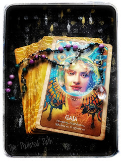 Gaia Card from the Secret Language of Animals Oracle Cards