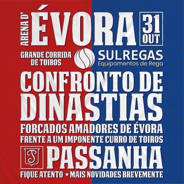 """""""Confronto de Dinastias"""" a 31 de Outubro em Évora"""
