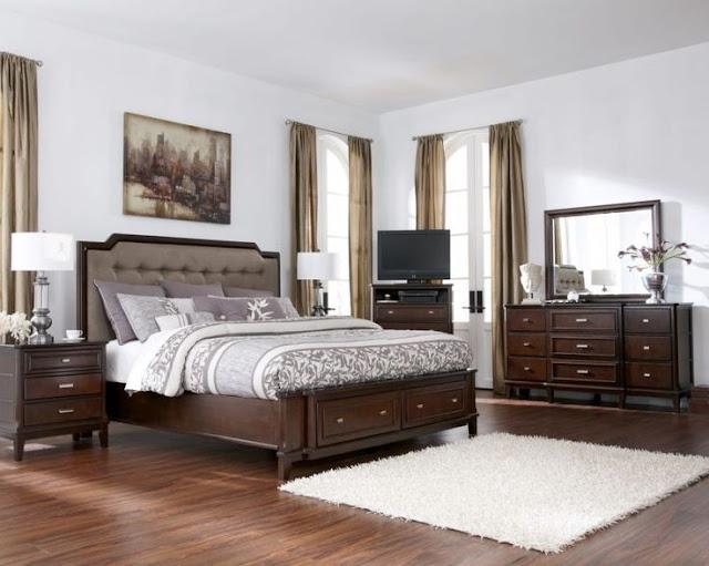 Những đặc điểm nổi trội của giường ngủ làm bằng gỗ óc chó