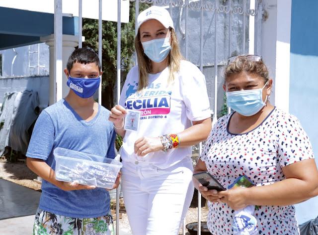 Prepara Cecilia Patrón impulso para personas con discapacidad