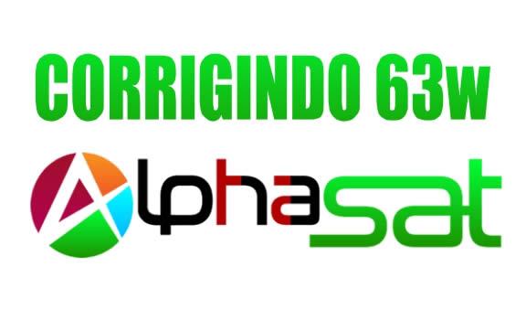 COMUNICADO ALPHSASAT SKS 63W - 11/11/2020