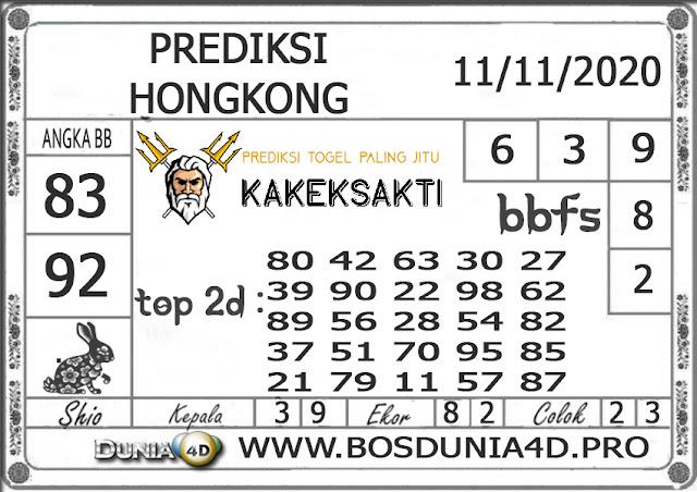 Prediksi Togel HONGKONG DUNIA4D 11 NOVEMBER 2020