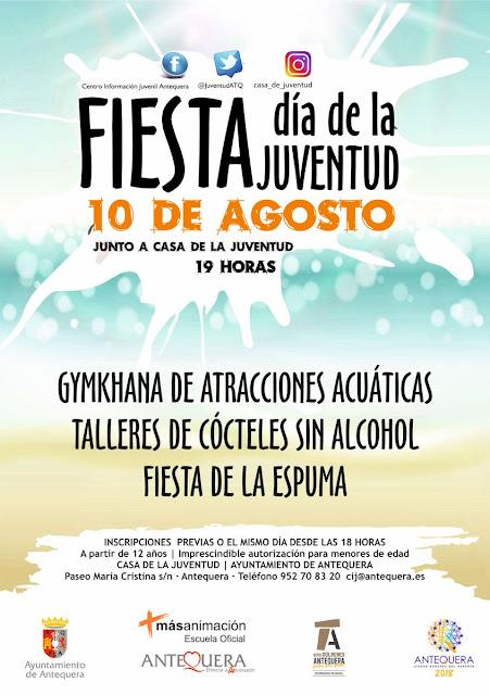 Fiesta del Día de la Juventud en Antequera