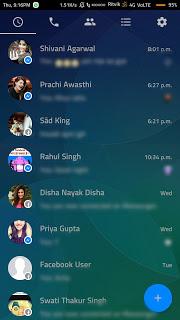 Facebook Messenger Transparent v60.0.0.24.70 Apk 2