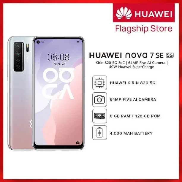 Huawei Nova 7 SE 5G Shopee