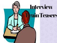 Interview Brain Teasers