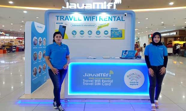 Rental Wifi Portabel JavaMifi Hadir di Bandara Juanda, Tawarkan Koneksi Internet tanpa Roaming