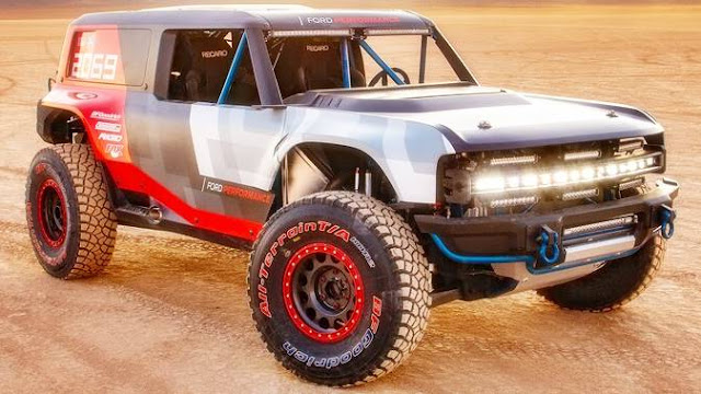 2021 Ford Bronco R Estimated Price