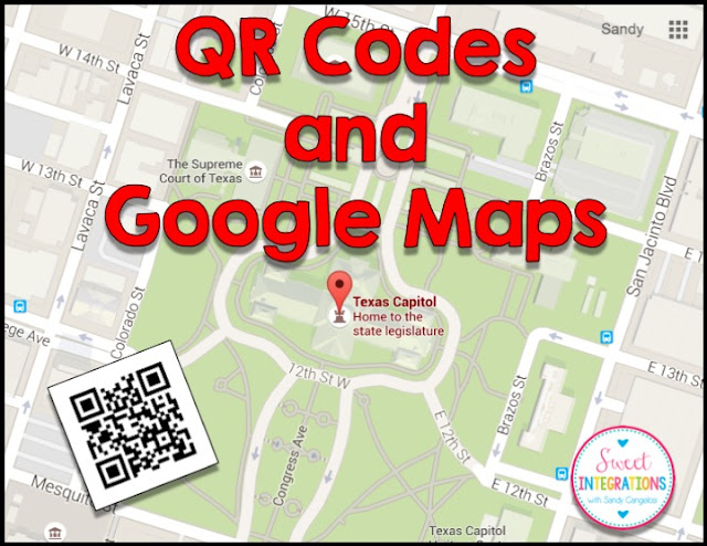 QR Codes and Google Maps