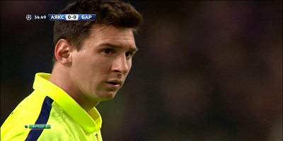 UEFA Group F: Ajax 0 vs 2 Barcelona 05-11-2014