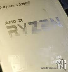 AMD Ryzen 3 3200G [PICASSO] Leaked images and Specifications