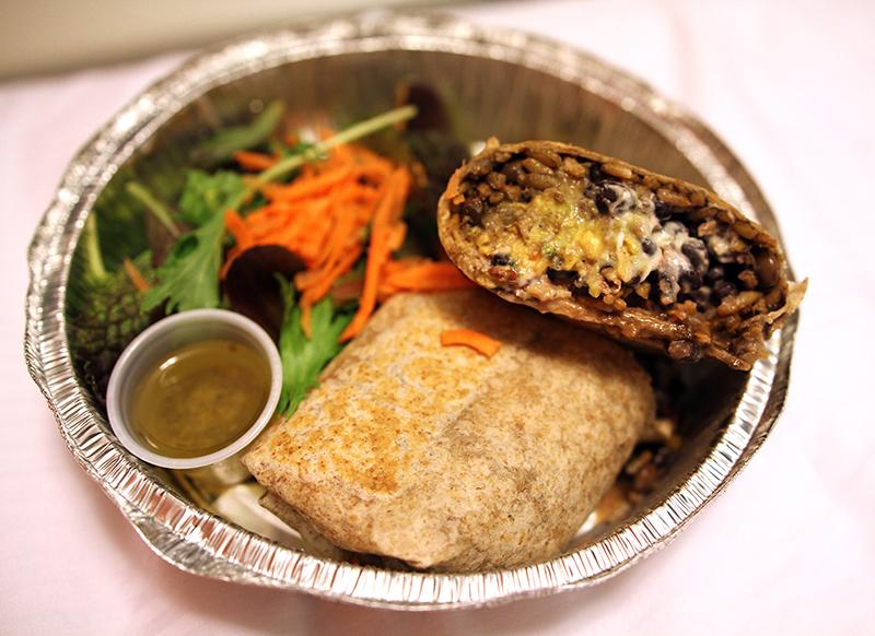 Veganreise New York V Spot Vegan Restaurant Vegan Burrito