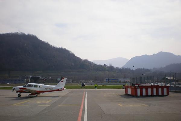 مطار لوغانو