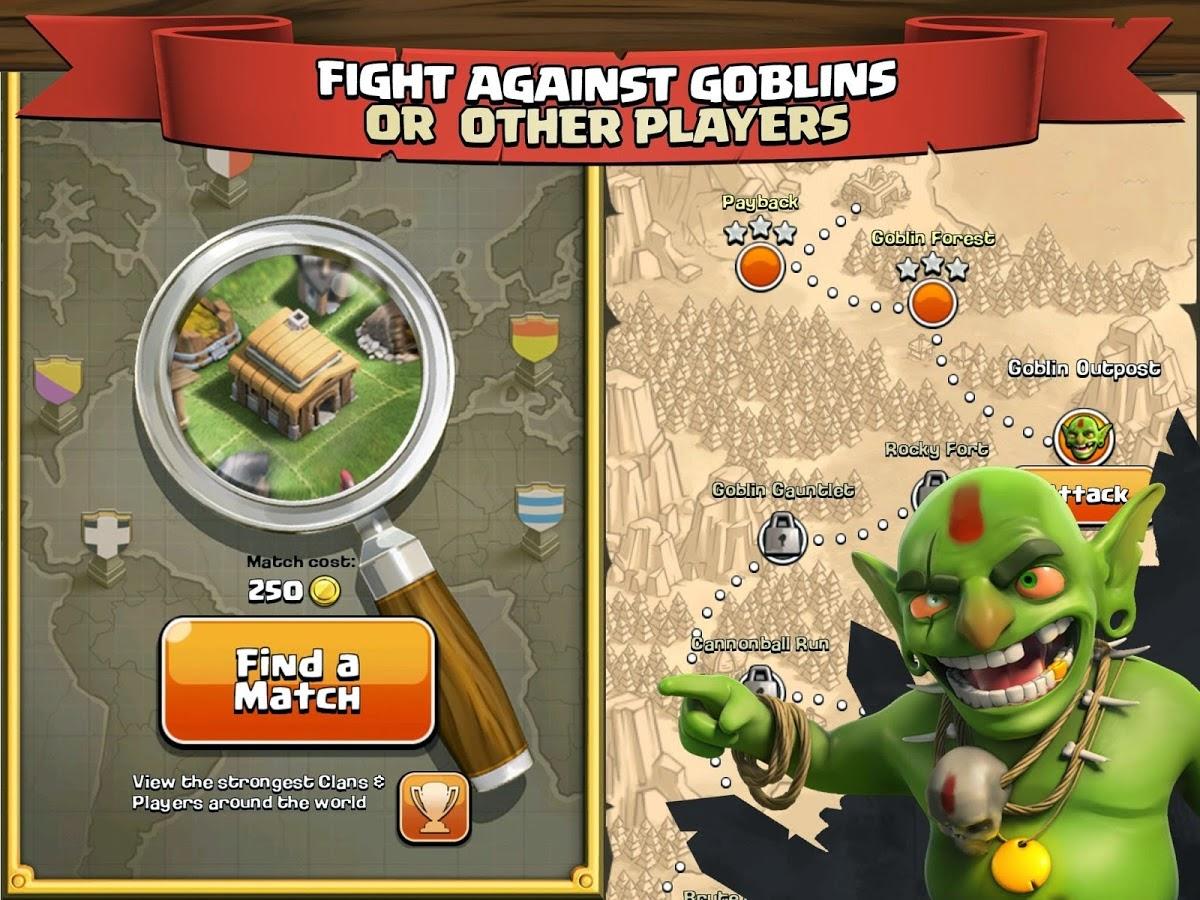 Clash of Clans apk oyun