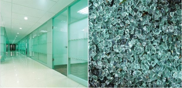 GLASS - TEMPERED IN QATAR