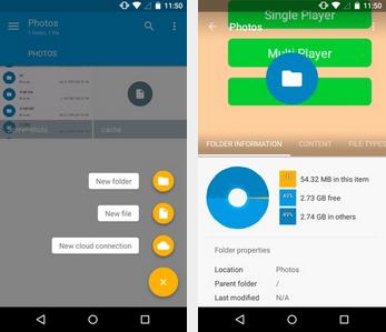 Tampilan Aplikasi Solid Explorer File Manager Premium Android