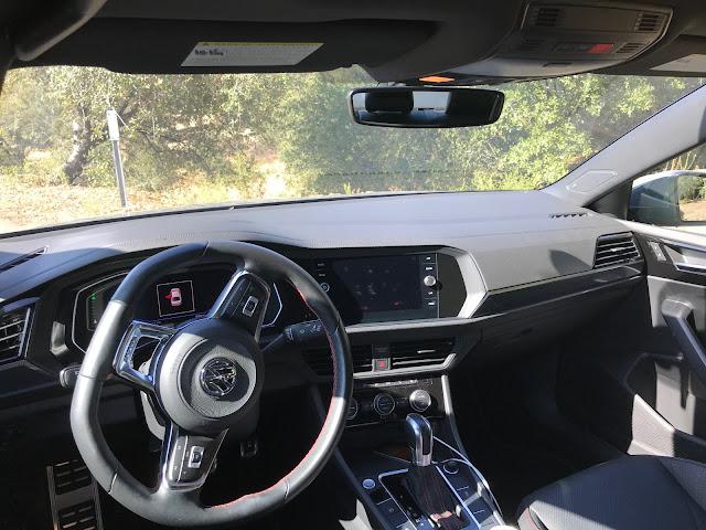 Interior view of 2019 Volkswagen Jetta GLI