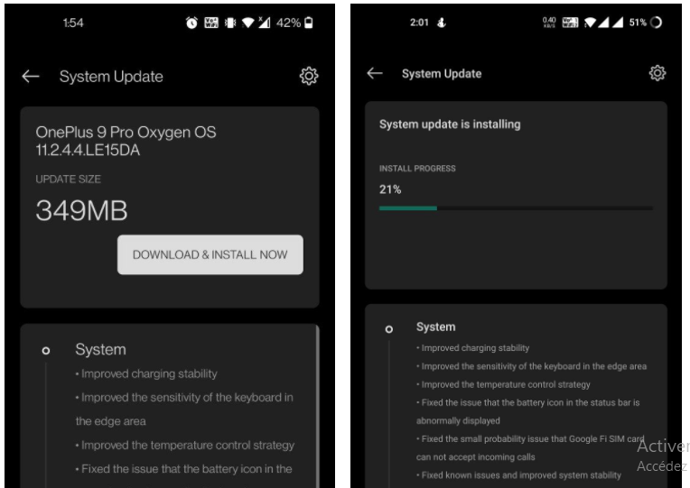 With the April patch, OxygenOS 11.2.4.4 is now available for the OnePlus 9 series