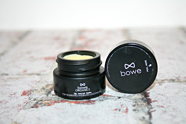 Bowe Organics Lip Rescue Balm