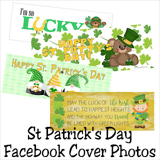 Don't just decorate your home, decorate your Facebook page too with these fun St Patrick's day Facebook cover photos.  They are a fun way to wish your friends a Happy St Patrick's day and lots of luck this month.