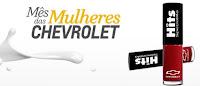 Esmalte Grátis da Chevrolet no Mês das Mulheres