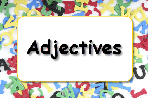 adjectives, english grammar