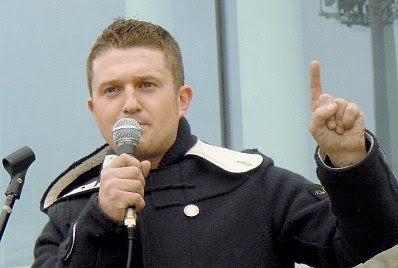 Tommy Robinson in Luton