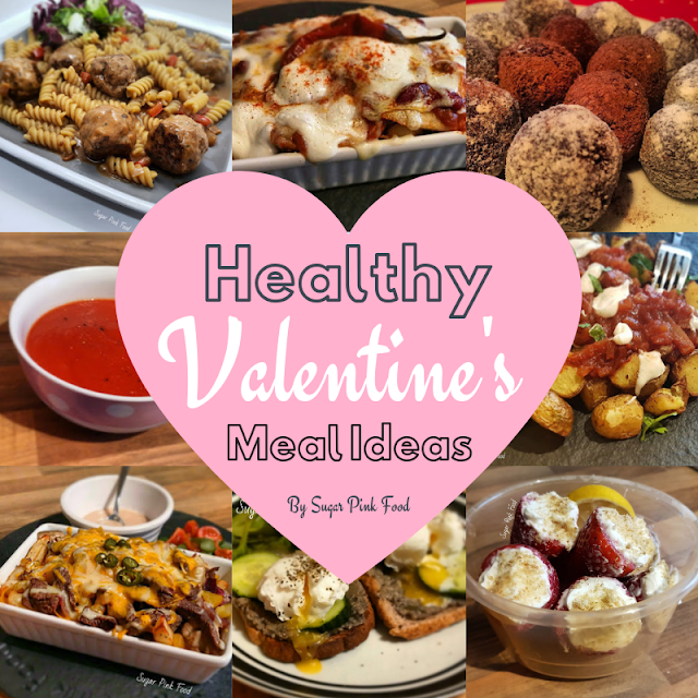 Healthy 3 Course Meal Ideas for Valentines Day