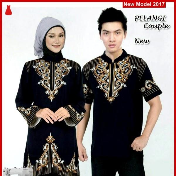 MSF0107 Model Couple Batik Yani Embroidery Pelangi