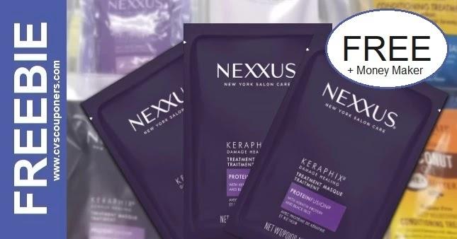 FREE Nexxus Treatment CVS Deal 4-25-5-1