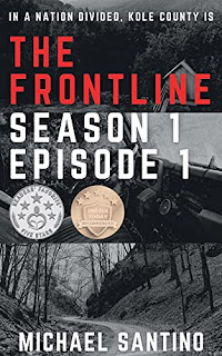 The Frontline: Season 1 Episode 1 - a small-town crime serial book promotion by Michael Santino