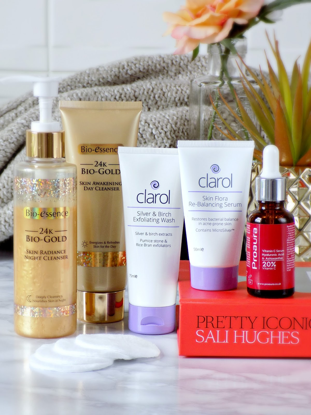 New skincare on trial, Bio-essence, Proaura, Clarol