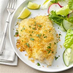 RecipeReview Crunchy Oven-Baked Tilapia