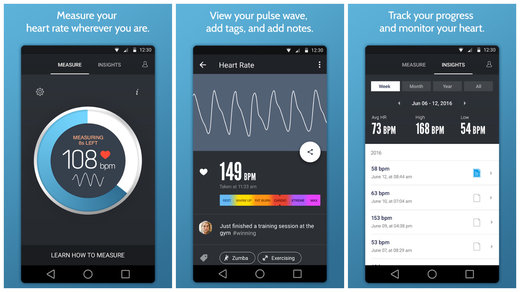 Instant Heart Rate pour Android