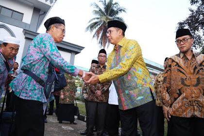 Menteri Agama Lepas Kloter I di Embarkasi Surabaya Sabtu Lusa