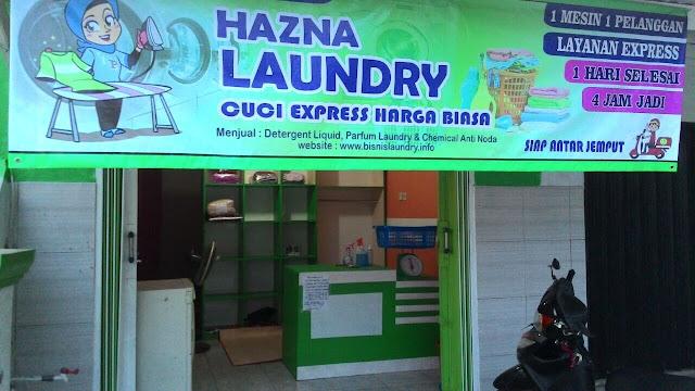Contoh Spanduk Laundry