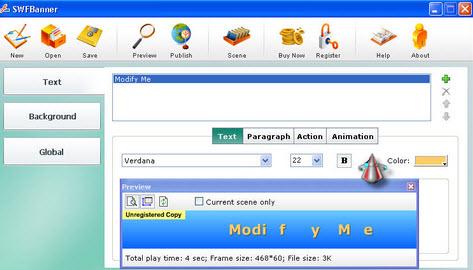 تحميل برنامج Flash Banner Maker لإنشاء وتصميم البنرات ألاعلن الفلاشى
