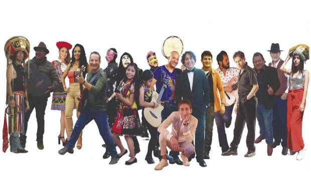 """Artistas se unen en cruzada solidaria """"#Ayacucho Puede"""""""