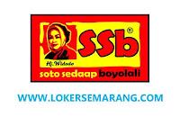 Lowongan Kerja Semarang Jateng November 2020 di PT Sedaap Sejahtera Bersama
