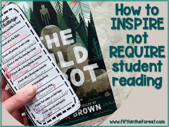 Pin Image for How to Encourage Reading Over School Breaks