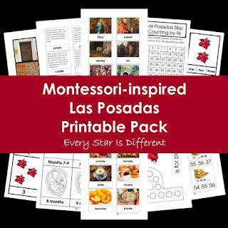 Montessori-inspired Las Posadas Printable Pack