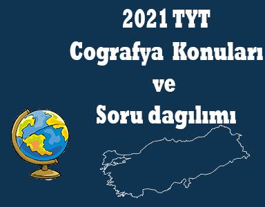 2021 TYT Coğrafya Konuları