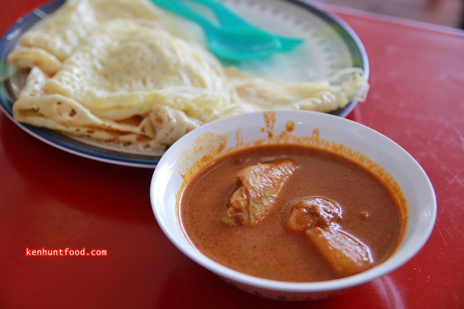 Ken Hunts Food: Roti Bakar Kacang Phool @ Sri Tanjung Pinang, Tanjung Tokong, Penang.
