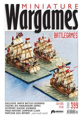 Miniature Wargames 399, July 2016