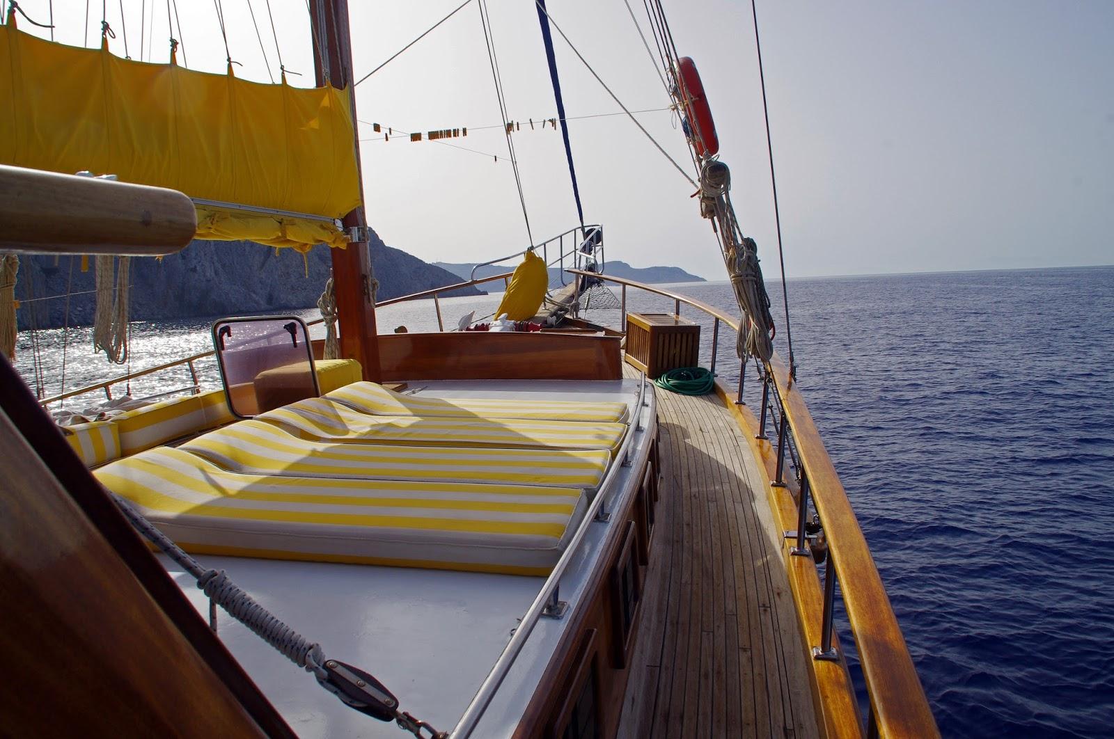 Wooden Deck Luxury Gulet